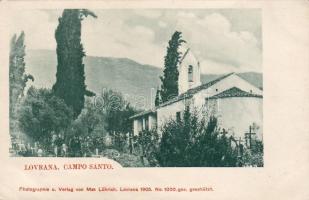 Lovran, Lovrana; Campo Santo