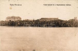 Tata-Tóváros, halastó és főgimnázium