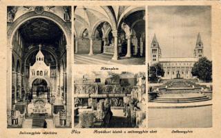 Pécs, Székesegyház és népoltára, Altemplom, Árpádkori leletek, belső