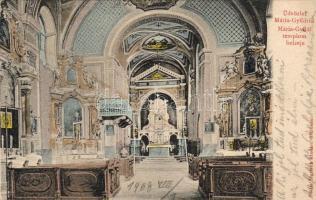 Máriagyűd, templom belső