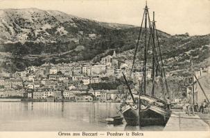 Bakar, Buccari; ship