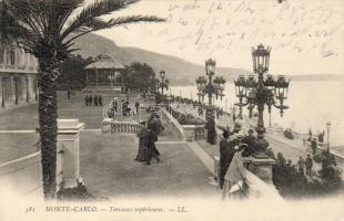 Monte Carlo, Terrasses supérieures / terraces