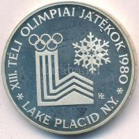 "1980. 200Ft Ag ""Téli olimpia - Lake Placid"" piefort, 1980. 200Ft Ag ""Téli Olimpia - Lake Placid"" piefort"