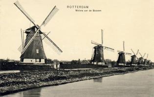 Rotterdam, Molens aan de Boezem / mills