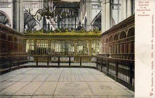 Amsterdam, Nieuwe Kerk, Koor  / church, choir,  interior