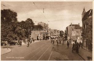 Haarlem, Houtbrug / wooden bridge, automobile