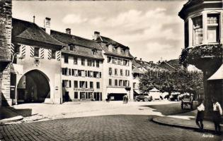 Aarau, Restaurant Vogl, automobile