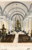 Basel, St. Josephskirche / church, interior
