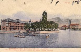 Zürich, boats