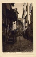 Basel, Altstadt, Imbergässli / old town, street