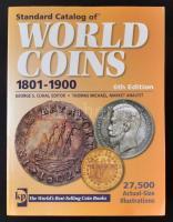 Krause - Standard Catalog of World Coins 1801-1900 6th Edition, used Világ pénzérméi katalógus 1801-1900 - Standard Catalog of WORLD COINS 1801-1900 (6. kiadás), használt állapotban