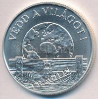 """1994. 1000 Forint Ag """"Protect the world"""", 1994. 1000Ft Ag """"Védd a világot"""""""