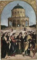 Milan, Pinacoteca di Brera, Marriage of the Virgin, Milánó, Pinacoteca di Brera, A Szűz házassága