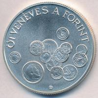 """1996. 2000Ft Ag """"Ötvenéves a Forint"""" 1996. 2000 Forint Ag """"50th Anniversary of Forint"""""""