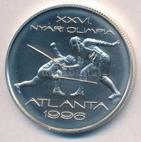 "1995. 1000Ft Ag ""Nyári Olimpia Atlanta - vívás"" 1995. 1000 Forint Ag ""Atlanta Olympics - fancing"""