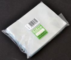 Plastic Case for Postcards/Letters/Banknotes T11, 100/pack KOBRA-Hüllen für Versandeinsteckkarten VK, T11, 100/pack Képeslaptok/Levéltok/Bankjegytok klórmentes átlátszó műanyagból T11 100db/cs.
