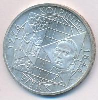 """Germany 1996A 10 Mark Ag """"150th Anniversary of founding - Kolpingwerk"""" Németország 1996A 10M Ag """"A Kolping mozgalom alapításának 150. évfordulója"""""""