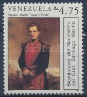 200th birthday of general Santiago Marino, 200 éve született Santiago Marino tábornok, 200. Geburtstag von Santiago Marino