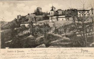 Fiume, Trsat, Castello di Tersatto; Divald Károly / castle