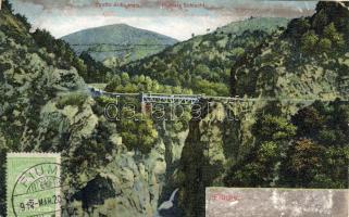 Fiume, Stretto di Fiumara, Fiumara Schlucht / pass