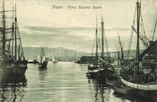 Fiume, Porto Nazario Sauro / port, ships