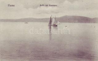 Fiume, Golfo del Quarnero, sailing ship