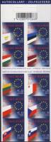 Enlargement of EU stamp booklet, Az Európai Unió bővítése bélyegfüzet, Erweiterung der EU Markenheftchen