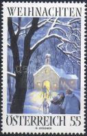 Christmas, Reinhold Stecher's painting, Karácsony, Reinhold Stecher festménye, Weihnachten, Gemälde von Reinhold Stecher