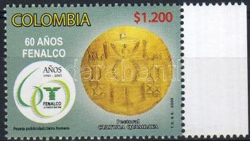 60 anniversary of FENALCO margin stamp, 60 éves a FENALCO ívszéli bélyeg, 60 Jahre des FENALCO Marke mit Rand