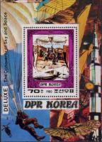 Pioneers of aviation block, A repülés úttörői blokk, Flugpioniere Block
