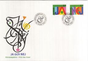 Greeting stamps set on FDC, Üdvözlőbélyegek sor FDC-n, Grußmarken FDC