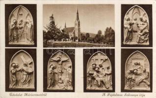 Budapest II. Máriaremete, Fájdalmas szűzanya útja