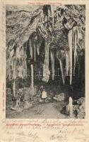 Aggtelek, cseppkőbarlang, Tempe völgye kiadja Divald Adolf