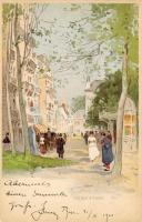 Vichy, rue / street litho s: H. Cassiers
