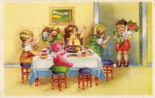 Childre, birthday, Gyerekek, szülinap