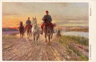 K.u.K. troopers s: L. Wintorovsky, K.u.K. lovaskatonák s: L. Wintorovsky