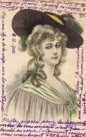 Lady with hat, Hölgy kalapban