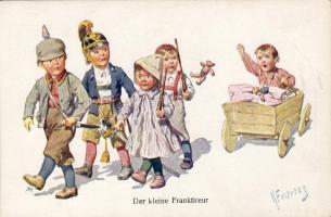 Der kleine Franktireur B.K.W.I. 169-8. s: Feiertag, Der kleine Franktireur B.K.W.I. 169-8. s: Feiertag