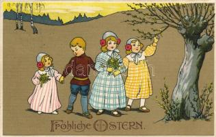 Easter, litho, Húsvét, litho