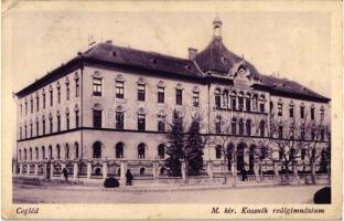 Cegléd, Kossuth reálgimnázium