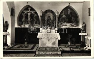 Budapest II. Magyar Szentföld, Betlehemi barlang, Golgotai kápolna