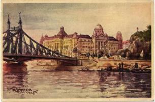 Budapest XI. Szent Gellért fürdő és szálló s: Ifj. Richter A.