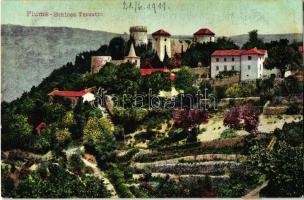 Fiume, Schloss Tersatto / castle