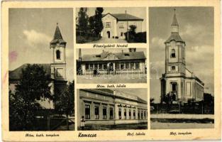 Kemecse, Főszolgabírói Hivatal, Református és Római katolikus templom és iskola