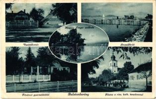 Balatonberény, vasútállomás, Fővárosi gyermeküdülő, Magyar Tenger szálloda