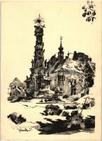 Budapest I. Szentháromság tér romjai