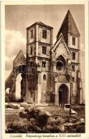 Zsámbék, Prépostsági templom a XIII. századból