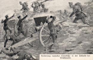 Capture of Russian artillery at the Battle of Grubieszów, cannon s: Robert Wosak, Az orosz tüzérség elfoglasása a Hrubieszów-i csatában, ágyú s: Robert Wosak