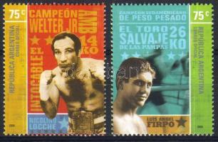 Famous boxers set, Híres boxolók sor, Berühmte Boxer Satz