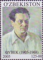 Oybek writer, Oybek író, Oybek Schriftsteller